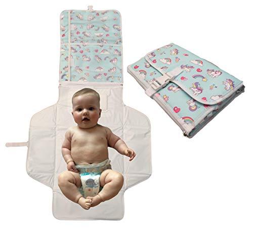 Materassino per cambio pannolini Portable–pieghevole–leggero e facile da...