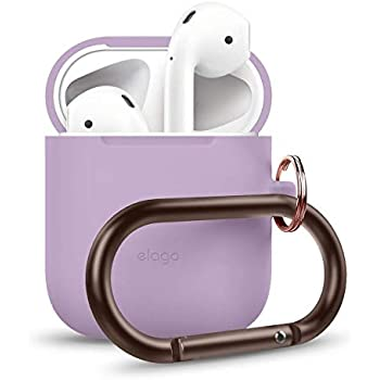 ELAGO Airpod Duo Hang Case - Lavender (Body)   Pink