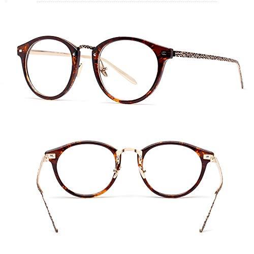 Easy Go Shopping Vintage Metall Geschnitzte Gläser großen Rahmen dekorativen Spiegel. Sonnenbrillen und Flacher Spiegel (Farbe : D)