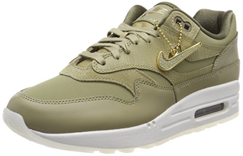Nike Damen WMNS Air Max 1 Premium Gymnastikschuhe, Grün (Neutral Oliveneutral Medium Olive 205), 40.5 EU (1 Max Air)