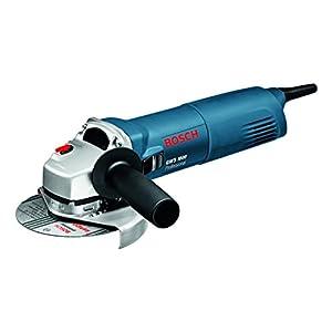 Bosch Professional GWS 1000 – Amoladora angular (1000 W, 11000 rpm, Ø Disco 125 mm, Protección contra rearranque, en caja)