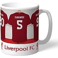 Official Personalised Liverpool FC Dressing Room Mug