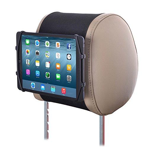 TFY Universelle Auto Kopfstützen Halterung Silikon Halterung für 7-10,5 Zoll Tablets und iPads 9-zoll-band