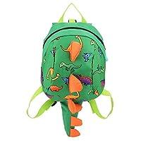 Zerodis Dinosaur Backpack Kids Children Toddler Bag Cartoon Backpack Snack Lunch Bag Travel Rucksack with Safety Harness Leash for Preschool Boys Girls