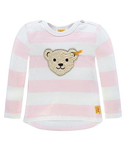 Steiff Baby-Mädchen Sweatshirt 1/1 Arm, Rosa (Barely Pink 2560), 74