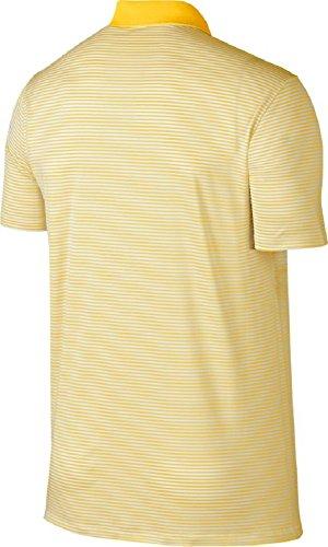 Nike Victory mini Stripe Polos Amarillo/White
