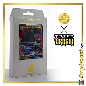 Salamence-GX 44/70 - #myboost X Sole E Luna 7.5 Trionfo dei Draghi - Box de 10 Cartas Pokémon Italiano