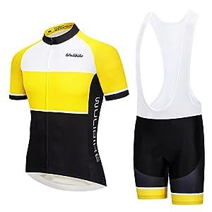 41hms2cJXGL. SS300 logas Completo Ciclismo Estivo Uomo Squadre Magliette Bici Maniche Corte+Pantaloncini MTB in Gel per Corsa Bici Strada
