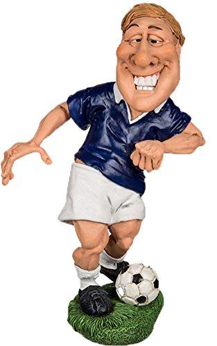 Bada Bing Figuren FUßBALLER BLAU Feldspieler Soccer Profi Spieler Berufe Funny Job Witzig Geschenk Deko 73