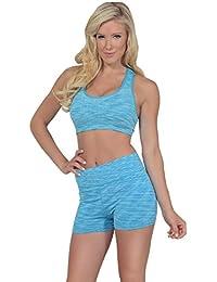 Soutien-gorge de sport pour femmes avec un décolleté ronde pour aerobic et haute performance