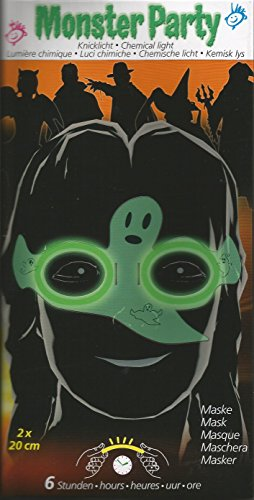 Maro Toys Monster Party Ghost Maske Glow Stick