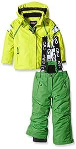CMP veste de ski pour fille-vert-taille 116 3W04755