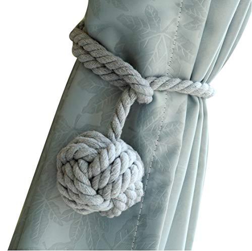 Do4U - Un par de cordones artesanales para cortinas, cordones hechos a...