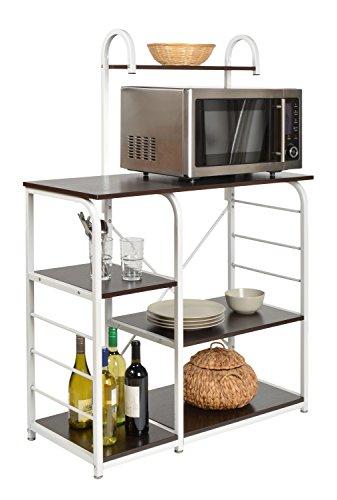 ts-ideen Tavolo Alto Scaffale per Cucina o Sala da Pranzo in Ferro e ...