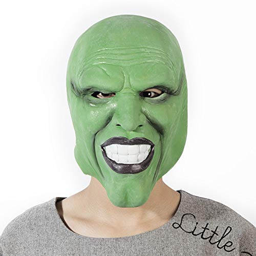 suxiaopei Halloween April Fools Day Großhandel Requisiten Maskerade Maske Horror - Vielzahl von White Haired Witch Mask Latex Green Mask