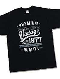 1977 Vintage Year - Aged To Perfection - 40 Ans Anniversaire T-Shirt pour Homme