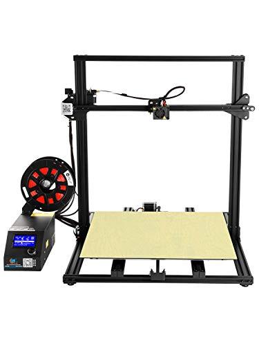 ZHQEUR CR-10S S5 3D-Drucker Upgrade Filament Monitor Doppel-Z-Leitspindeln Fortsetzen des Druckens Große Druckgröße 500x500x500mm Metall zugänglich