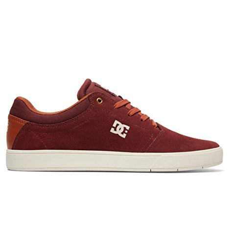 DC Shoes Crisis, Baskets mode homme Burgundy/Tan