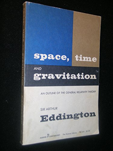 Space, Time and Gravitation - an outline of the general relativity theory. Harper Torchbooks. 1959.