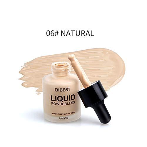 TAOtTAO QIBEST Makeup Liquid Foundation Feuchtigkeitsspendender Concealer BB Cream Dropper Foundation flüssiger Concealer (F) Chiffon Drop