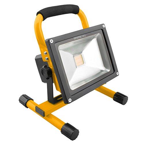 LED-Akkustrahler  <strong>Breite</strong>   170 mm