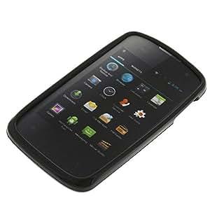 Tasche für Mobistel Cynus E1 Gummi TPU Schutz Handytasche schwarz
