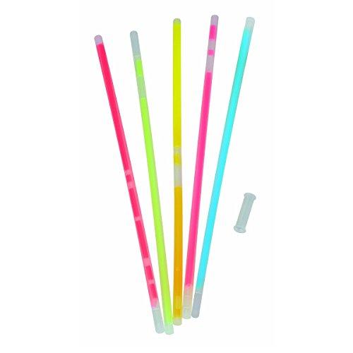 (100 Knicklichter in 5 Farben für Armbänder 200mm inkl Verbinder Leuchtstäbe)