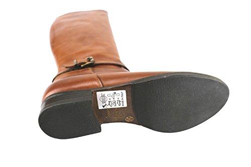 CRUZ Stiefel Damen Schwarz Polieren Leder Polieren