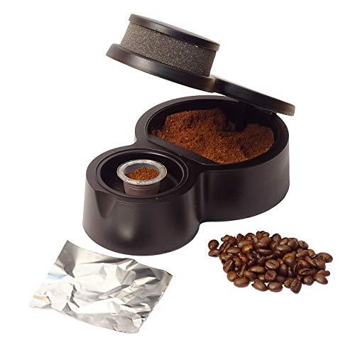 KLAPCAP ¡Novedad! Envasador de cápsulas compatibles Nespresso. Café e infusiones en 15 Segundos. Cápsulas rellenables y Reutilizables. EcoFriendly.