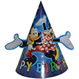 Partysanthe Mickey mouse paper hat 10pcs