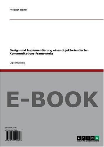 Design und Implementierung eines objektorientierten Kommunikations-Frameworks