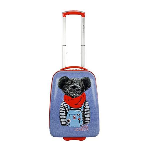 Lulu Castagnette Child's Suitcase with Sea Bear Design