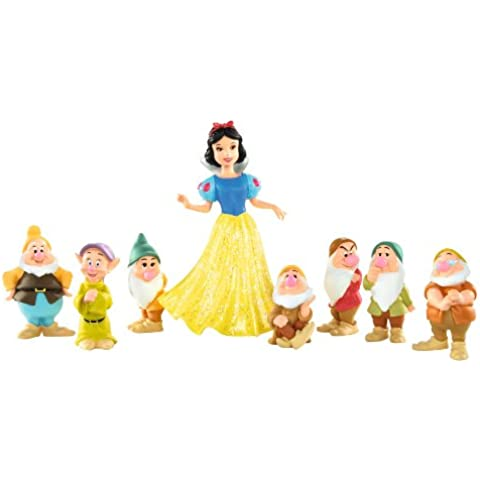 Princesas Disney R9644 - Blancanieves Y Los 7 Enanitos (Mattel)
