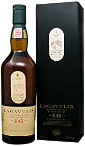 Lagavulin 16 Years Old Single Malt Scotch Whisky, 70cl