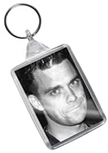 ROBBIE WILLIAMS - Original Art Keyring #js003
