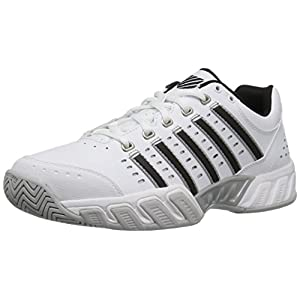 K-Swiss Performance Herren Bigshot Light LTR Tennisschuhe, Weiß (White/Black/Silver 30)