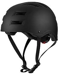 Casco Skate Ajustable para Adulto Unisex de OMorc, ABS Casco de bicicleta Ligero con 12 Agujeros de Respiración y Espuma interna EPN, Sirve para Bicicletas, Skate, Esquías, Patinaje etc