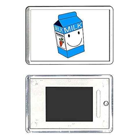Milk Carton - Medium Plastic Fridge Magnet