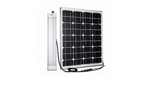 Plafoniere Con Pannello Solare : Ecoworld shop plafoniera ad energia solare per esterno con
