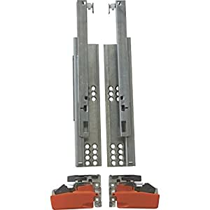 BLUM blumotion rail tandem plus de 550 mm avec raccords, 550H