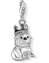 THOMAS SABO Damen-Clasp Charms 925_Sterling_Silber Glas 1510-497-21