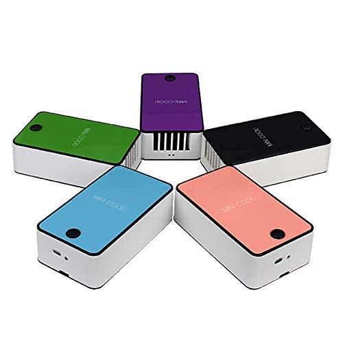 BUFANXIN Tragbarer Handheld Mini Cooli Pocket Usb-Ventilator Tischklimaanlage Luftbefeuchtung Kühlung Wiederaufladbare Lüfter Pfropfen Wimpern Trockner - 2125 Usb