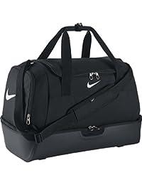 Nike Club Team Swsh Hrdcs L - Bolsa unisex, color negro / blanco, talla única