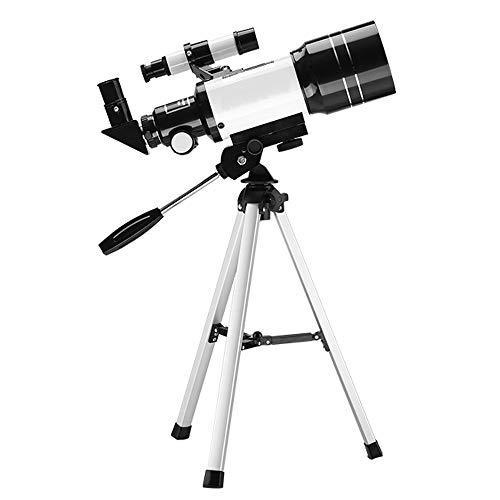 TZZ Monokulares Teleskop, Sternenbeobachtung mit Zwei-in-Einem-Stativ Monokular (Schwarz + weiß)
