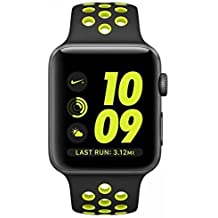 Apple Watch S2 Nike + Smartwatch 42 mm grau sidéral