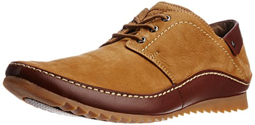 Buckaroo Men's Antonio Camel Sneakers - 6 UK  available at amazon for Rs.2395