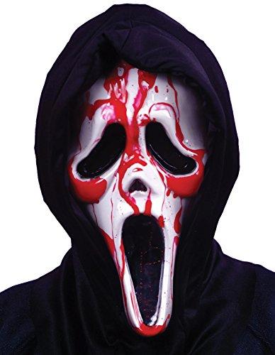 Blutende Scream Ghost Face Maske Halloween Horror Verkleidung Erwachsene