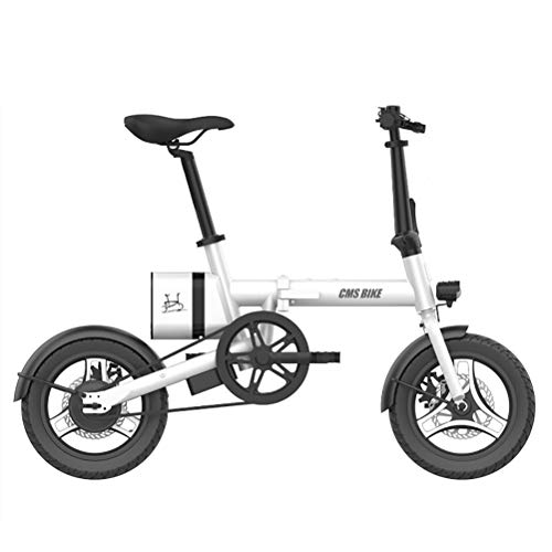 ANYWN Elektrofahrrad, Faltbares E-Bike für Erwachsene, Faltrad, 20/26 Zoll Klapprad Pedelec mit Lithium-Akku (250W, 36V), Elektrofahrräder mit Nabenschaltung,Weiß