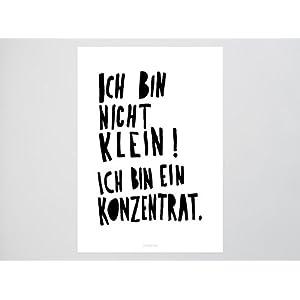 Kunstdruck Poster / Konzentrat