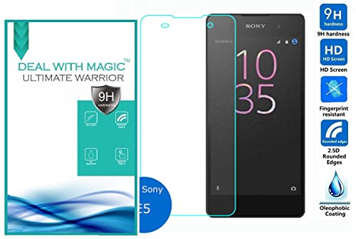 Magic Tempered Glass 2.5 Curve screen Protector For Sony Xperia E5